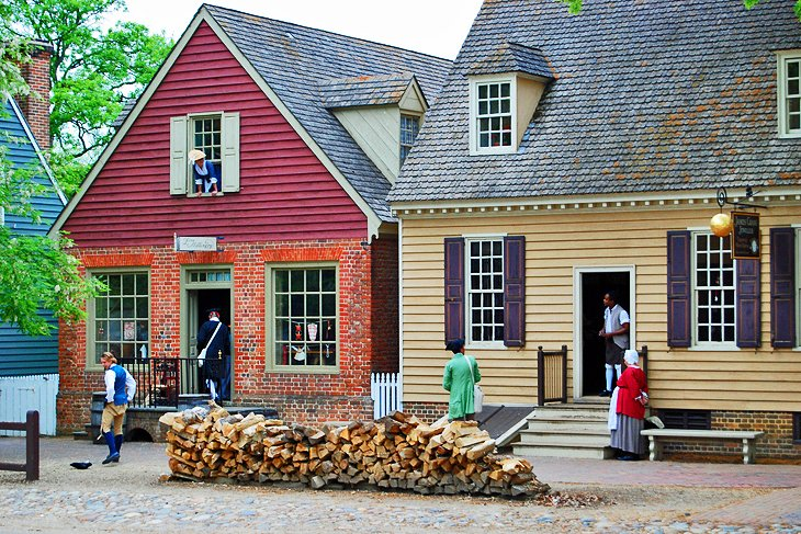 12 Top Tourist Attractions in Williamsburg and Easy Day Trips – Virginia Tourist Attractions Map