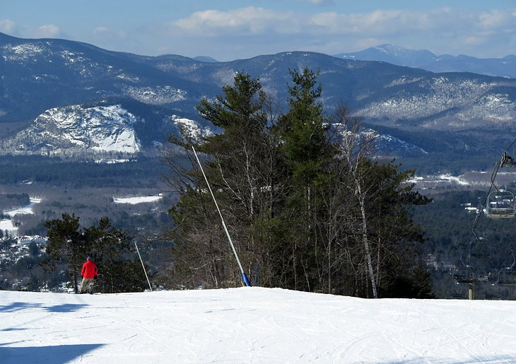 Cranmore Mountain and North Conway, New Hampshire