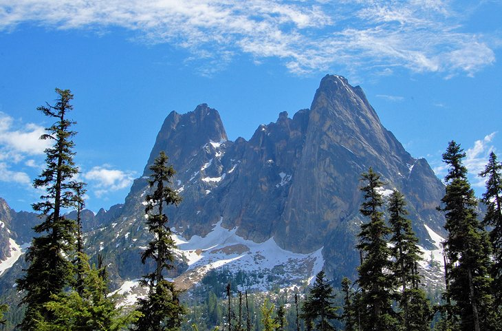 Mountains in North Cascades National Park