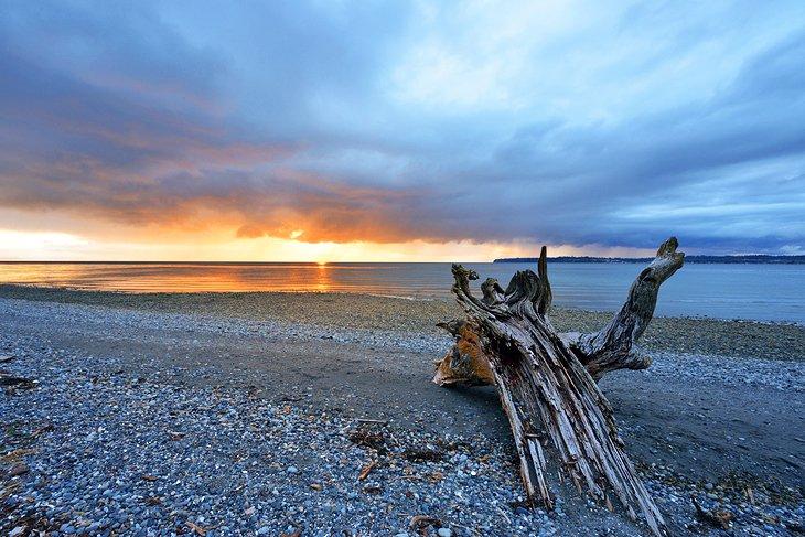 Parque estatal Birch Bay