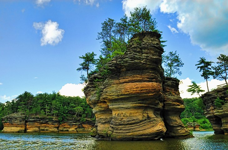 The Dells of the Wisconsin River