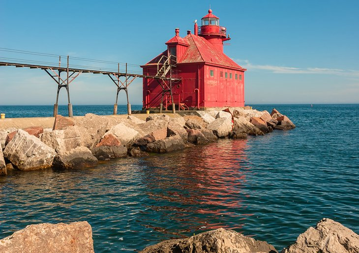 Lighthouse at Sturgeon Bay