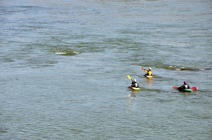 Kayak cerca de Harpers Ferry