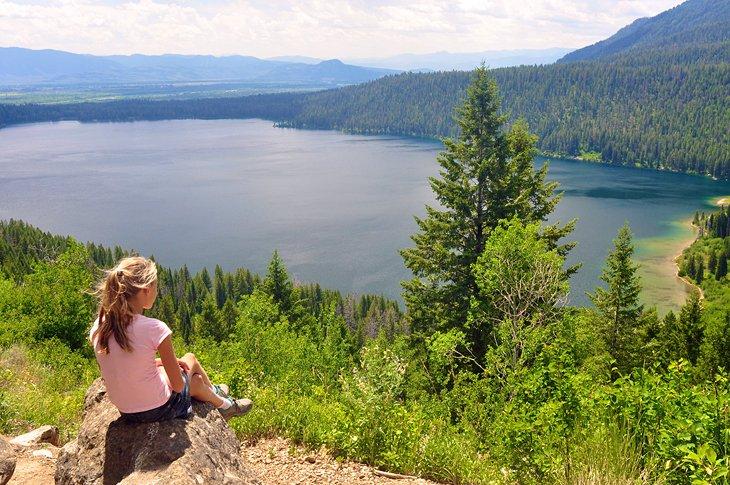 Mirador del lago Phelps