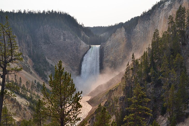 Grand Canyon of the Yellowstone: South and North Rim