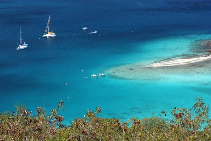 Trunk Bay Beach & Underwater Snorkel Trail, St. John
