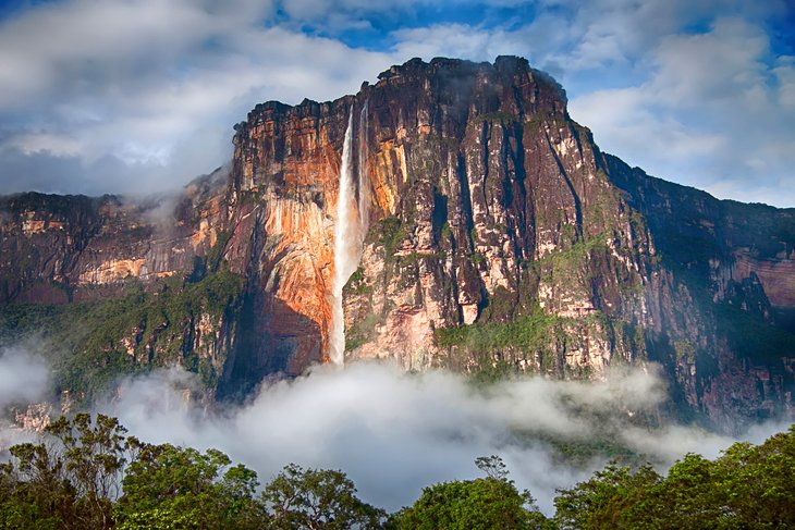 10 top rated tourist attractions in venezuela planetware angel falls sciox Images