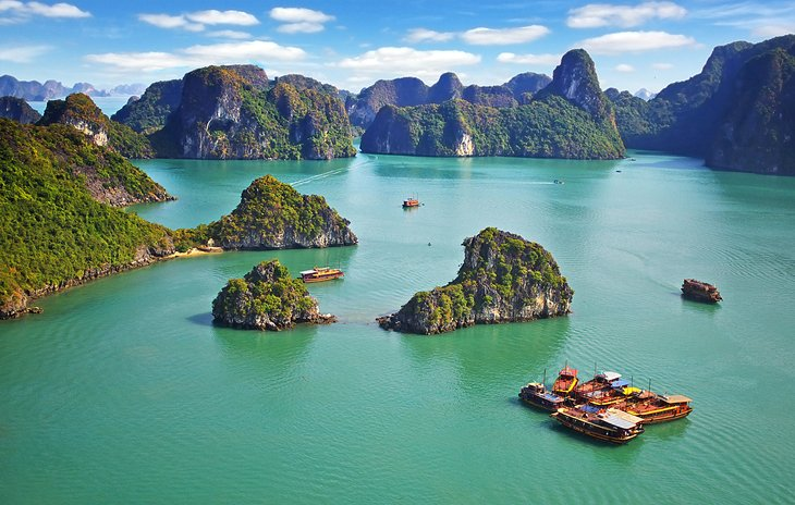 12 Best Places to Visit in Vietnam – Vietnam Tourist Attractions Map