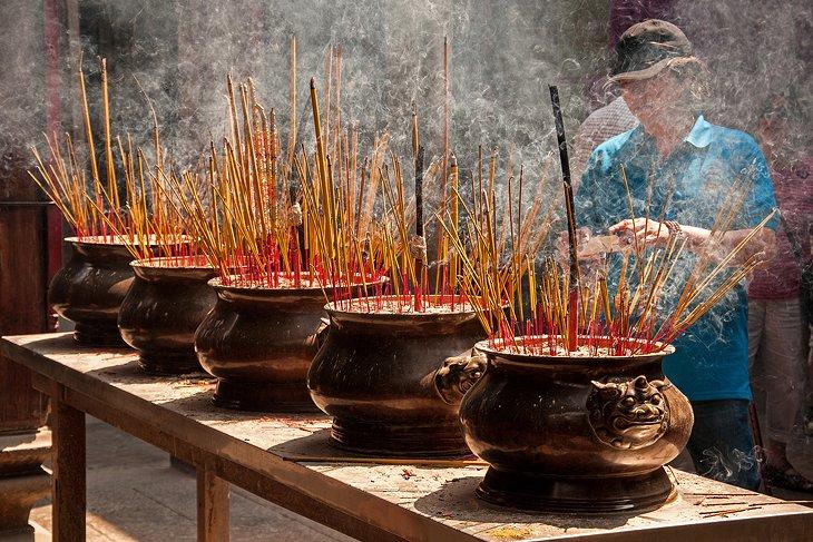 Templo de Thien Hau, barrio chino