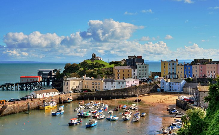 Carew and Tenby