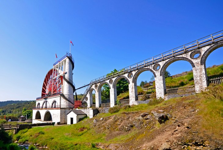 The Laxey Wheel and Island Railways