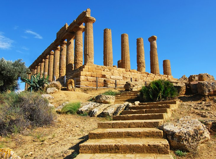 The Valley of Temples in Agrigento