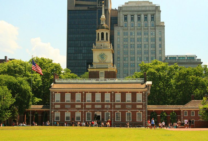 Independence National Park and the Liberty Bell
