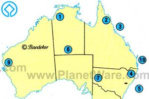 Australia travel guide planetware australia world heritage areas gumiabroncs Gallery