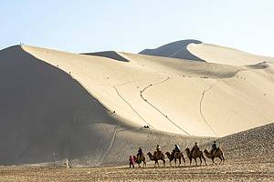 Visiting Dunhuang & Jiayuguan: Mogao Caves, Western End of the Great Wall of China & Camel Trekking