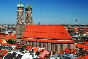Tourist attractions in Munich, Germany