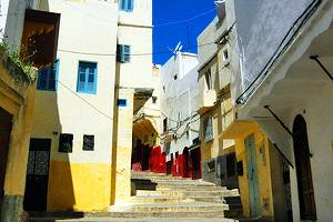 Tourist attractions in Tangier, Morocco