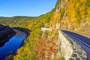 13 Best Drives to See Fall Foliage in New York