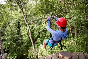 10 Top-Rated Places for Ziplining in Ohio