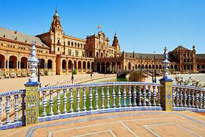 Tourist attractions in Seville, Spain