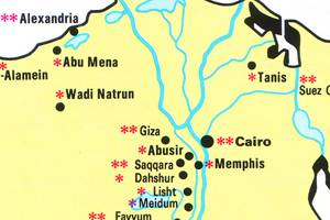 Egypt Travel Guide PlanetWare - Map of egypt tourist sites