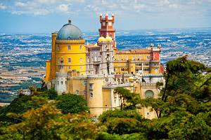 Tourist attractions in Sintra, Portugal