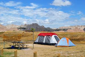 6 Best Campgrounds in Badlands National Park, SD