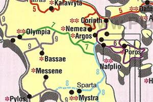 Suggested Routes in Greece
