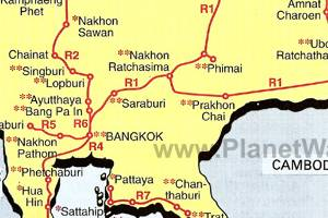 Thailand - Suggested Driving Routes