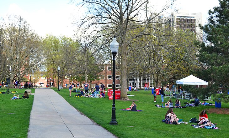 The Quad at Illinois State University