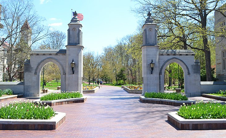 Sample Gates, Indiana University
