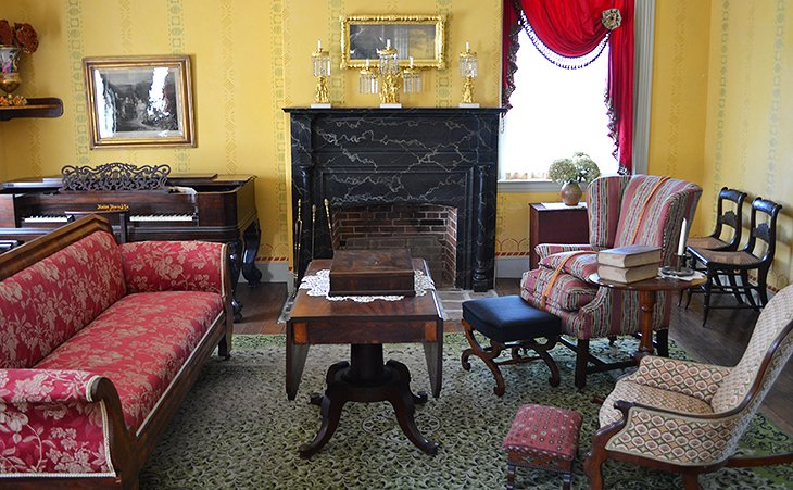 Inside the Wylie House Museum