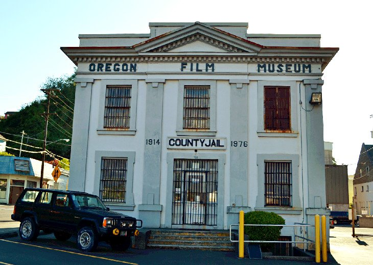 The Old Clatsop County Jail and Oregon Film Museum