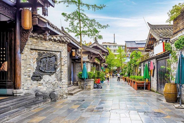 Callejones históricos de Chengdu