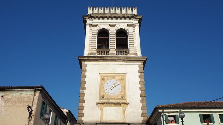 Clocktower in Este