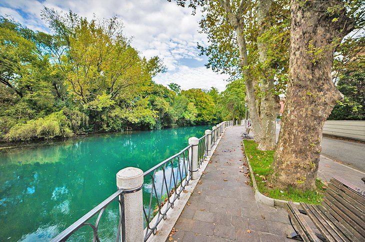 Along the river in Treviso