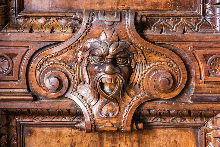 Carved Door in the Doge's Palace
