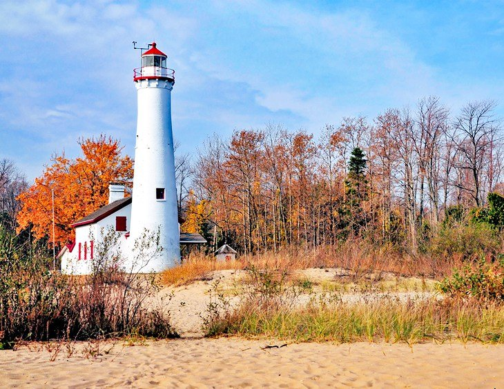 Tawas Point State Park Beach