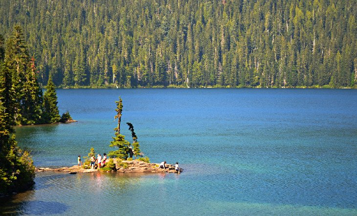 Lago Mowich