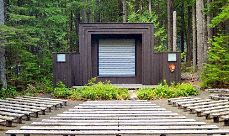 Anfiteatro en el campamento de Ohanapecosh