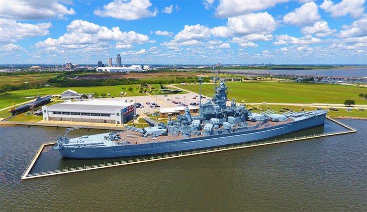 Parque conmemorativo del acorazado USS Alabama en Mobile