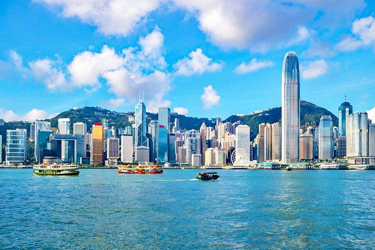 آسمان خراش های هنگ کنگ چین