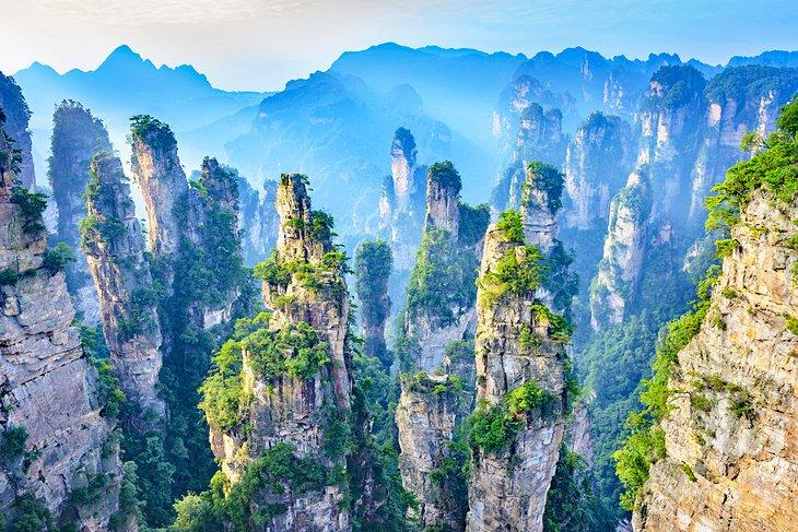 پارک جنگلی ملی ژانگجیاجیی چین