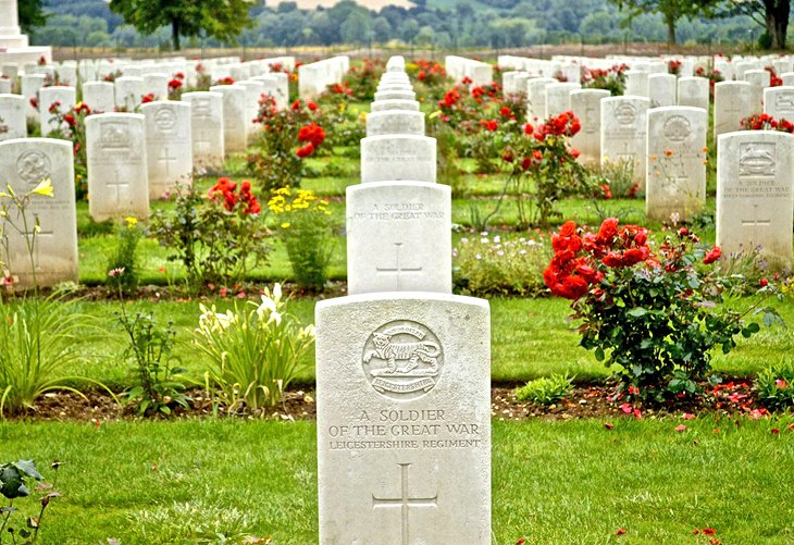 Cemetery in Somme