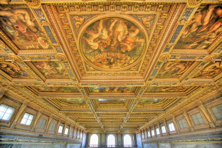 Sala Dei 500 Firenze.Exploring Palazzo Vecchio Palazzo Della Signoria In