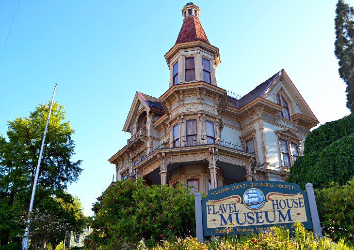 Flavel House Museum in Astoria