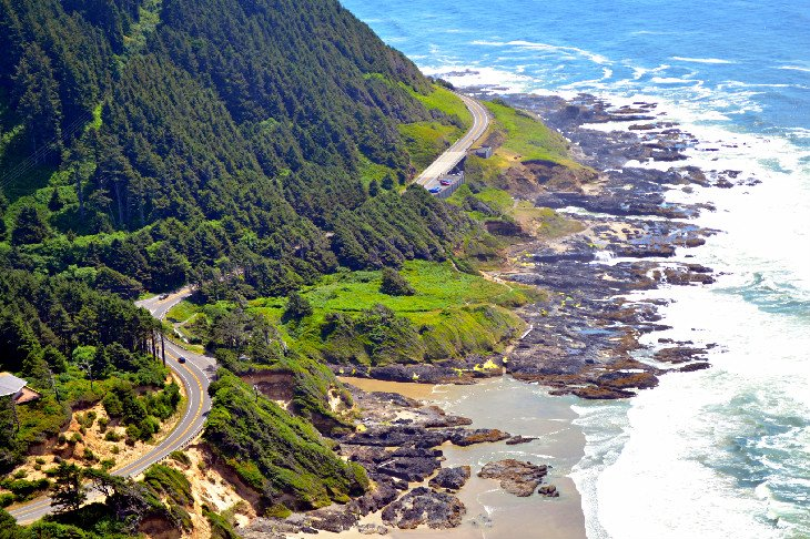 Cape Perpetua viewpoint on the Oregon Coast Trail