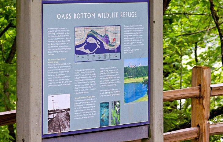 Refugio de vida silvestre Oaks Bottom