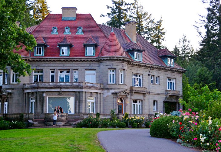Pittock Mansion via the Wildwood Trail