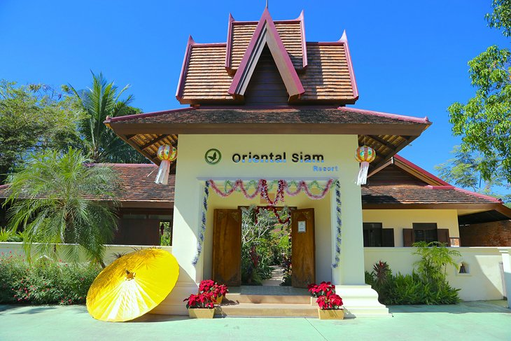 восточный сиамский курорт